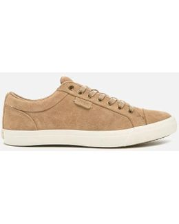 Men's Geffrey Suede Court Trainers