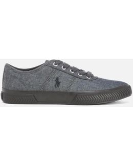 Men's Tyrian Vulcanised Canvas Trainers