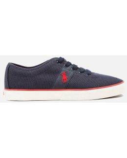 Men's Halford Vulcanised Canvas Trainers