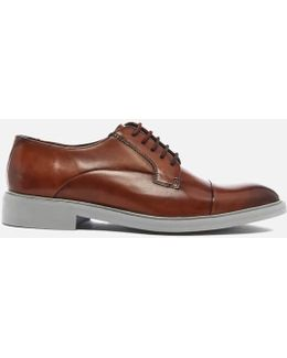 Men's Aokii 2 Leather Toe Cap Derby Shoes