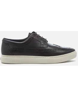 Men's Rupert Perforated Toe Trainers