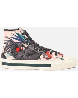 Men's Kirk Printed Hi Top Trainers