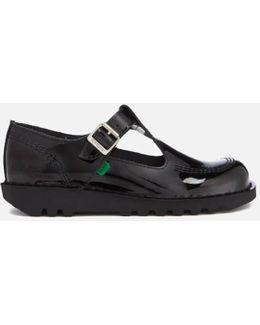 Women's Kick Lo Aztec Patent T-bar Shoes