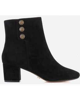 Women's Parlour Suede Heeled Boots