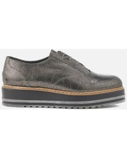 Women's Follow Leather Oxford Shoes