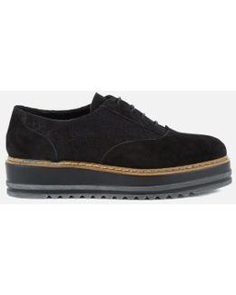 Women's Follow Suede Oxford Shoes