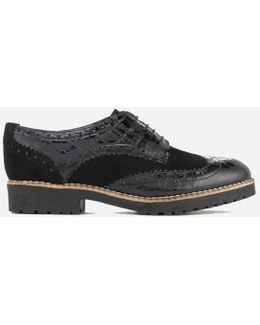 Women's Faune Leather Brogues