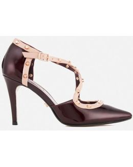 Women's Cayleigh Patent Leather Court Shoes