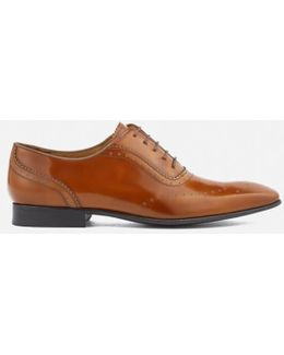 Men's Adelaide Leather High Shine Oxford Shoes