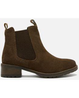 Women's Latimer Waxy Suede Chelsea Boots