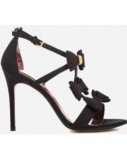 Women's Appolini T Bar Triple Bow Heeled Sandals