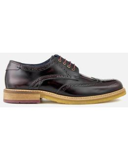 Men's Prycce High Shine Leather Brogues