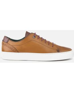 Men's Duuke Leather Cupsole Trainers