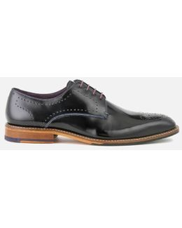 Men's Marar High Shine Leather Derby Shoes