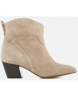 Women's Karyn Suede Heeled Ankle Boots