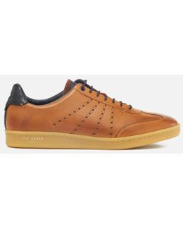Men's Orlee Leather Cupsole Trainers