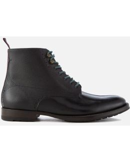 Men's Dhavin Leather Lace Up Boots