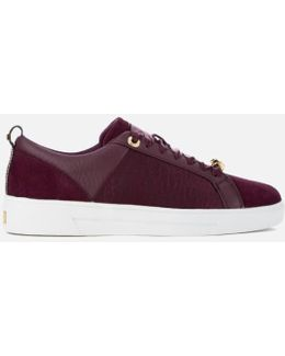 Women's Kulei Leather Cupsole Trainers