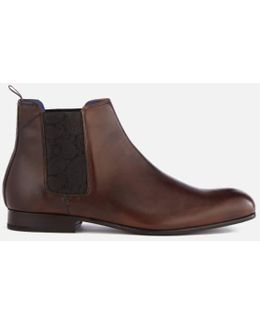Men's Kayto Leather Chelsea Boots