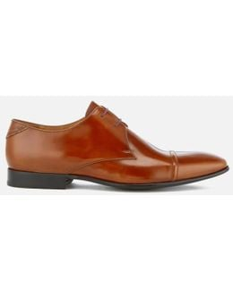 Men's Robin High Shine Leather Toe Cap Derby Shoes
