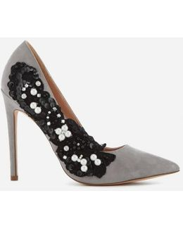 Women's Bounty Embellished Side Court Shoes