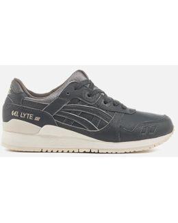 Gel Lyte Iii Dark Grey Shoe H7m4l