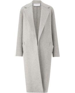 Apache Grey Oversized Coat