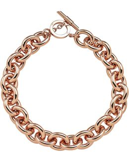 Chunky Rose Gold Necklace