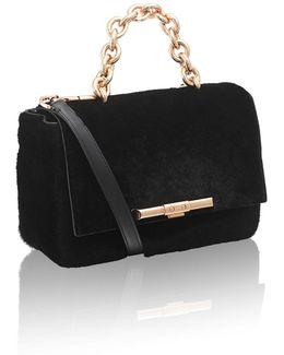 Redford Black Kangaroo Shoulder Bag