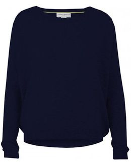 Chung Midnight Cashmere Crew Neck Top