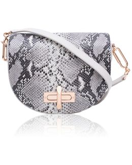 Niven Mineral Leather Crossbody Bag