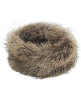 Ida Natural Raccoon Snood