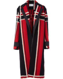 Mohair Jacquard Coat