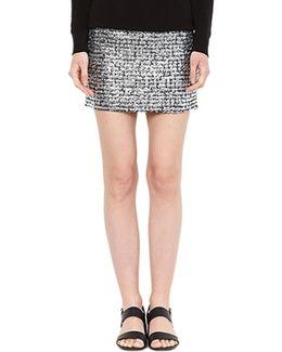 Supreme Mini Skirt In Metallic