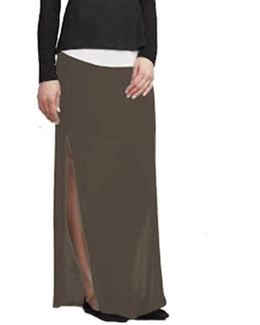 Astaire Maxi Skirt In Taupe