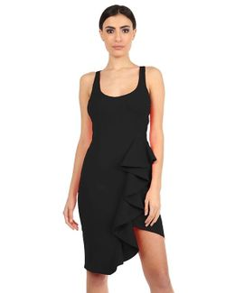Mannix Racerback Dress In Black