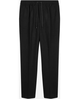 Elasticated Waist Carrot Fit Trousers