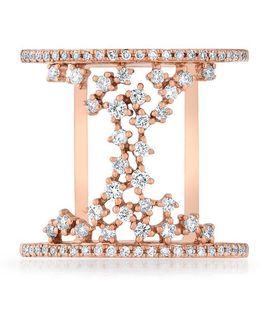 14kt Rose Gold Diamond Lace Lana Ring