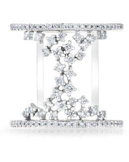 14kt White Gold Diamond Lace Lana Ring
