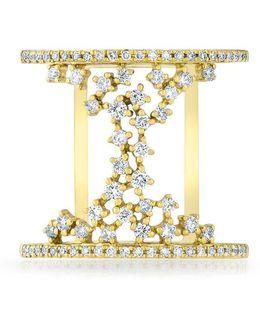 14kt Yellow Gold Diamond Lace Lana Ring