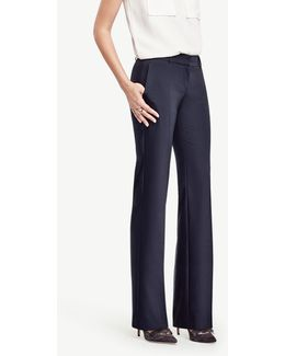 The Tall Trouser In Tropical Wool - Kate Fit