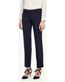 The Petite Straight Leg Pant In All-season Stretch - Devin Fit