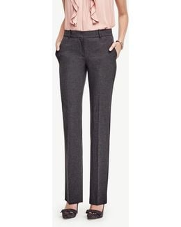 The Straight Leg Pant In All-season Stretch - Ann Fit