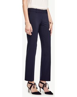 The Petite Straight Leg Pant In All-season Stretch - Kate Fit