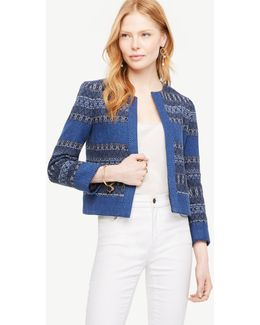 The Mixed Stripe Jacket