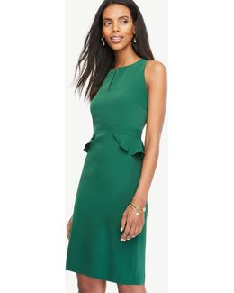 Peplum Sheath Dress