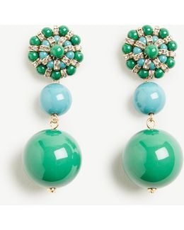Bauble Statement Earrings