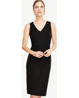 Tall All-season Stretch Seamed Sheath Dress