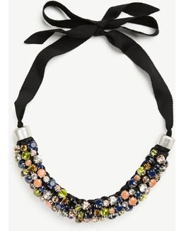 Bandana Statement Necklace