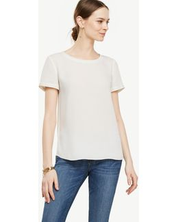 Tall Piped Tee